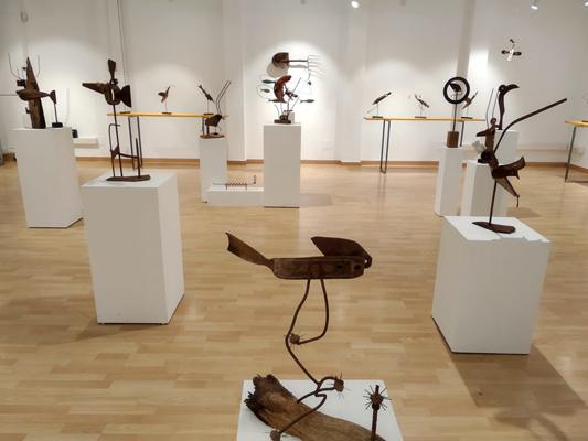 Ferro Bell. Exposición de esculturas